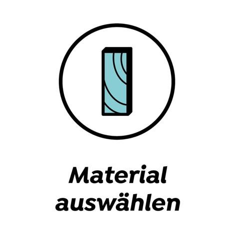 Material auswählen