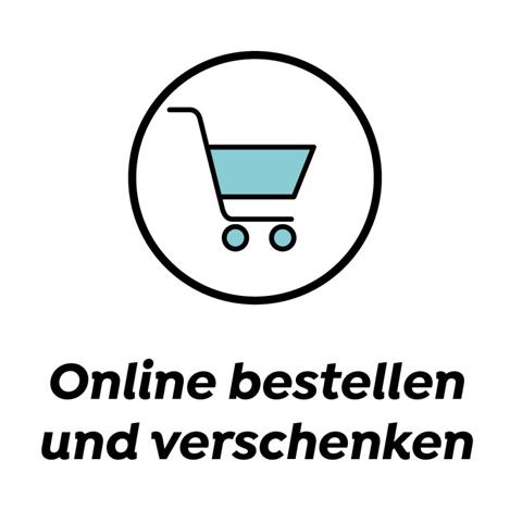 Online bestellen und verschenken